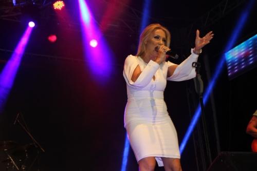 Gordana Tržan  tokom prve večeri održala je koncert za pamćenje