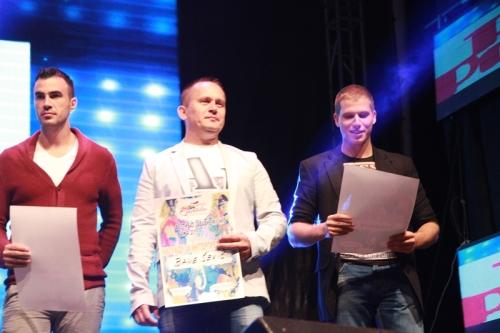 Nagradjeni  SAVA  BANE I STEFAN