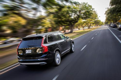 The new Volvo XC90 T6, exterior